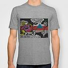 Bad Mona Graphic Comic Art Tee by Patricia Kimmerle