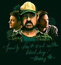 Family Don't End With Blood, Boy. by Tracey Gurney