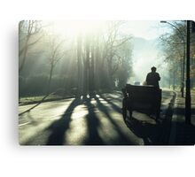 Road Traffic Canvas Print