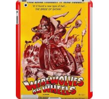 Werewolves on Wheels iPad Case/Skin