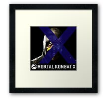 Mortal Kombat Merge Framed Print