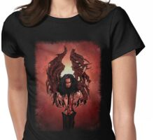 Abomination of the Earth Womens Fitted T-Shirt