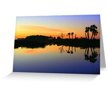 Another Beautiful Sunrise In Florida Greeting Card