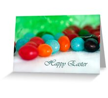 Jelly Bean Greeting ~ Happy Easter Greeting Card