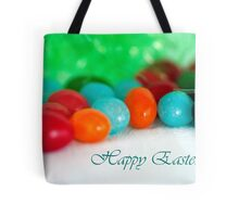 Jelly Bean Greeting ~ Happy Easter Tote Bag