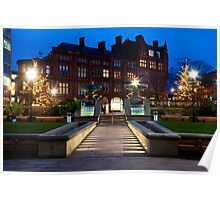 Peace Square Sheffield Poster