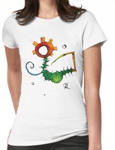 Antics02 Womens Fitted T-Shirt