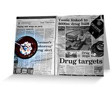 drugs drugs drugs Greeting Card