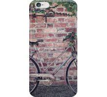 Retro Bike and Bricks iPhone Case/Skin