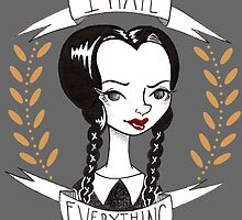 Wednesday Addams by theallegra