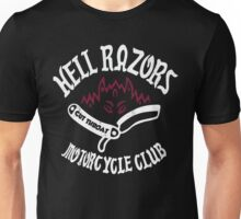 Hell Razors Motorcycle Club Unisex T-Shirt