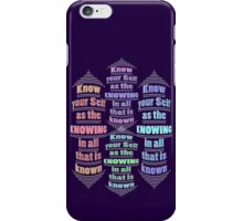 your Self 'IS' the KNOWING iPhone Case/Skin