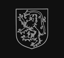 A Complete Guide to Heraldry - Figure 290 — Lion rampant, tail elevated and turned over its head Unisex T-Shirt