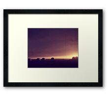 Arctic Coast Evening Framed Print