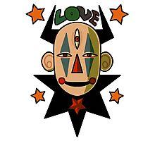 Love Clown 666 Photographic Print