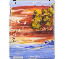 Letters from the moon iPad Case/Skin