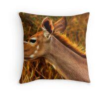 Kruger Kudu Throw Pillow