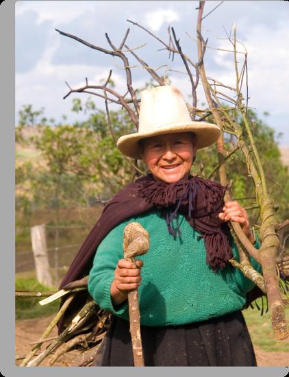 Tipical people, Amazonas (Andes) Peru by juan jose Gabaldon