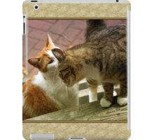 Closer ~ Let Me Whisper in Your Ear iPad Case/Skin