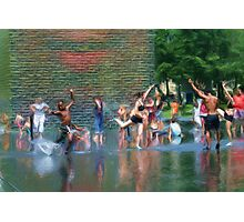 Water Dancers Photographic Print