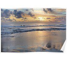 Sunrise Surfing-2274 Poster