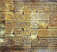 Qutub Wall, Delhi by John Douglas