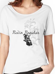Rodin Typeface Women's Relaxed Fit T-Shirt