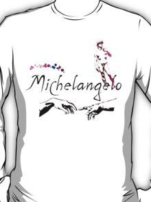 Michelangelo Typeface T-Shirt