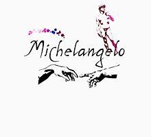 Michelangelo Typeface Long Sleeve T-Shirt