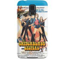 Switchblade Sisters Alt 1 (Blue) Samsung Galaxy Case/Skin