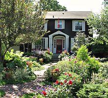 Cottage in Winnipeg by Teresa Zieba