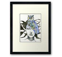 Totem #1 Framed Print