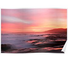 Sunset over Apollo Bay A Poster