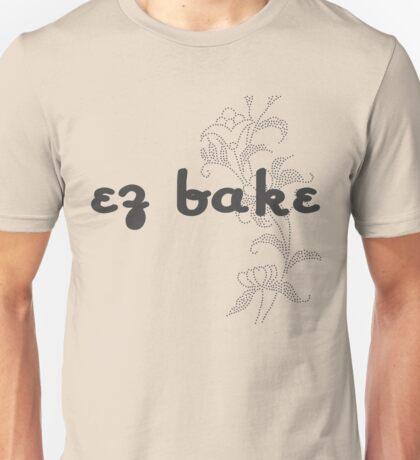 EZ Bake Typeface Unisex T-Shirt