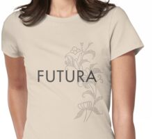 Futura typeface Womens Fitted T-Shirt