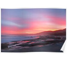 Sunset over Apollo Bay B Poster