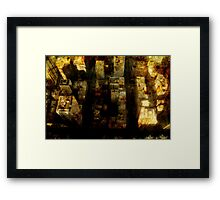 Chicago Grunge Framed Print