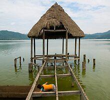 Laguna Azul, Tarapoto, Peru by juan jose Gabaldon