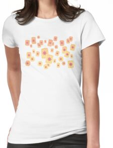 Floating Lanterns Gleam Variant Womens Fitted T-Shirt