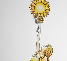 Sunflower by Brielle Wilchinsky