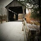 Covered Bridge Ahead by LeeMascarello