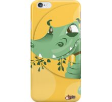 Take the crocodile for a walk  iPhone Case/Skin