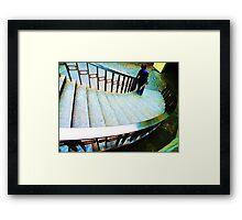 Stair World Framed Print