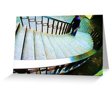 Stair World Greeting Card