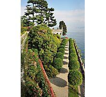 Isola Bella Lago Maggiore, northern side Photographic Print