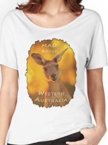 Kangaroo - MAD About Western Australia Women's Relaxed Fit T-Shirt