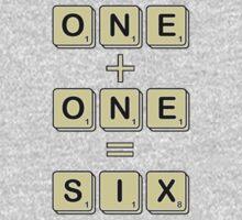 Scrabble Math One Piece - Short Sleeve