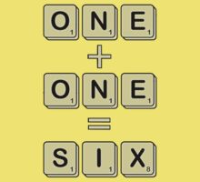 Scrabble Math Kids Clothes