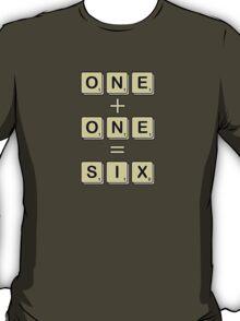 Scrabble Math T-Shirt