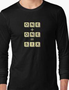 Scrabble Math Long Sleeve T-Shirt